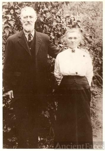 Hans Christian and Marie Nissen