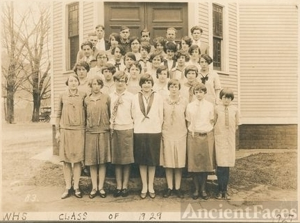 Whitcomb High School Class of 1929