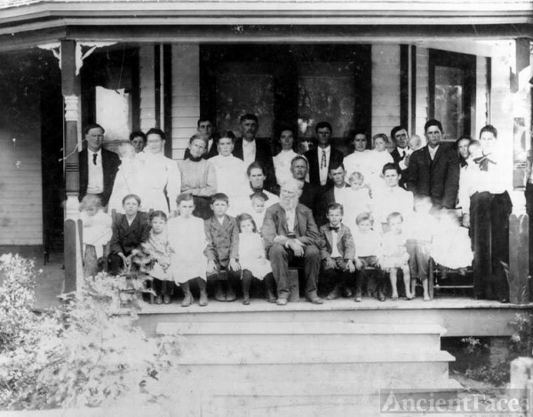 Gulledge Fam, Orange Ca. 1915