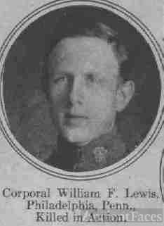 Corporal William F. Lewis