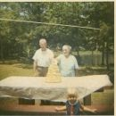 William Emmett King & Effie Eula (Johnson) King 50th Anniversary