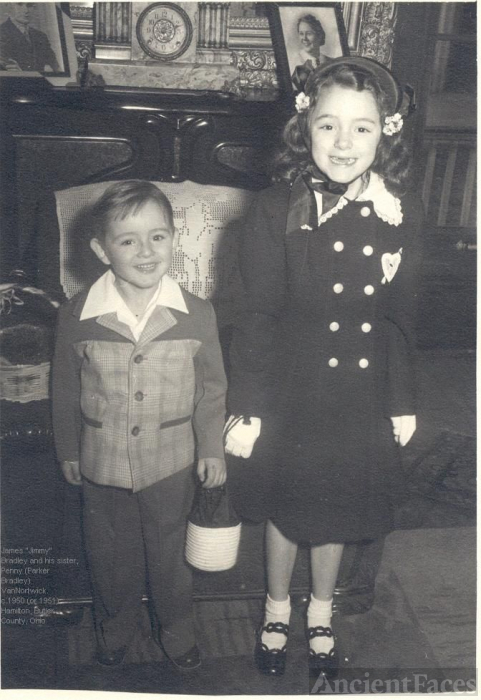 Jimmy Bradley and his sister, Penny