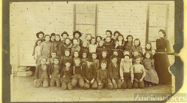 School photo, probably northern panhandle of TX