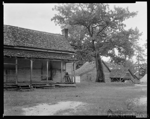 Outbuildings, Hill Plantation?, Washington vic., Wilkes...