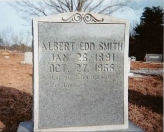 Headstone of Albert Edd Smith