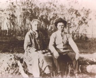 JOHN FRANKLIN AND SARAH FRANCES VAUGHT