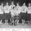 Helen Mathewson and 1926 Female Basketball Captains