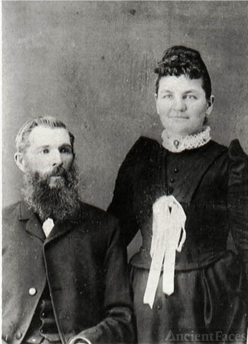 Eugene Henry Sage and Martha Jane Wells