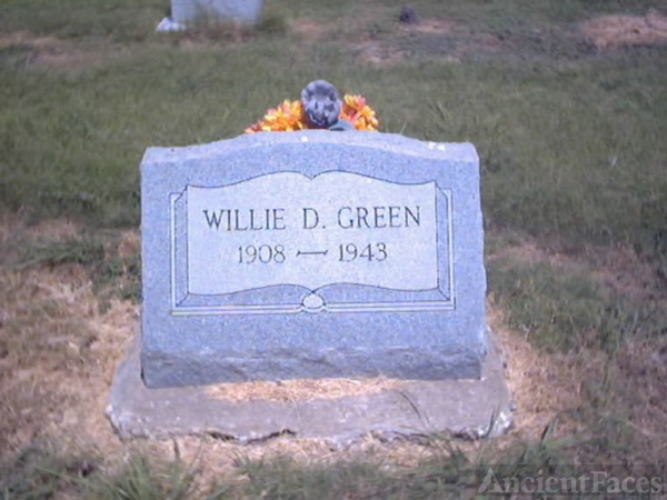 Willie D. Green Headstone