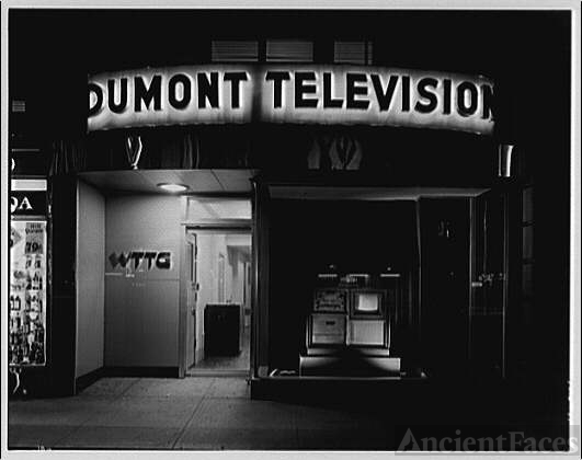 Griffith Consumers Co. Exterior of Dumont Television,...