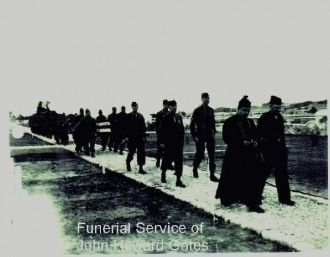 Funeral in Victrolls France