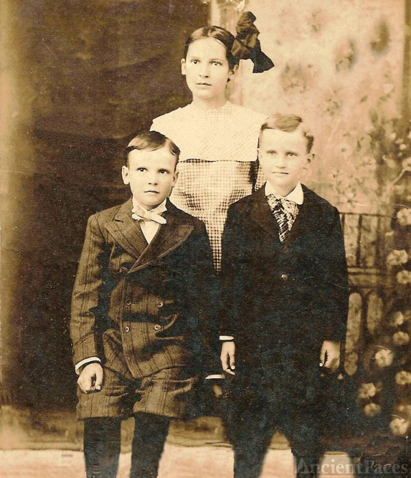 William, Annie Mae, and John