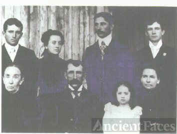 The Family of Charles Christian Carl and His Wife, Susan Wertz