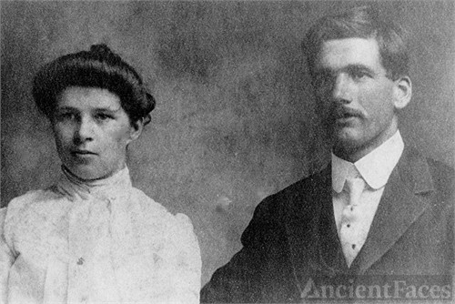 Mary Alice Perdue and John William George Wells