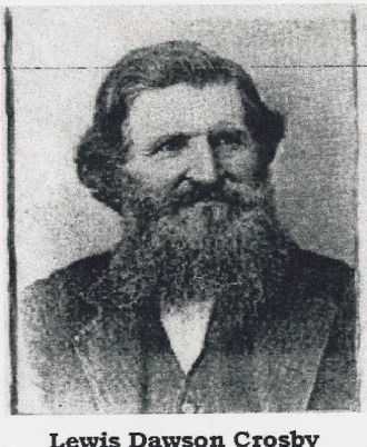 A photo of Lewis D Crosby