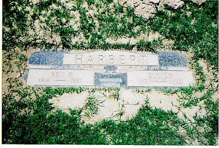 Ben and Eloise YOAKUM Harbert Carroll Gravesite