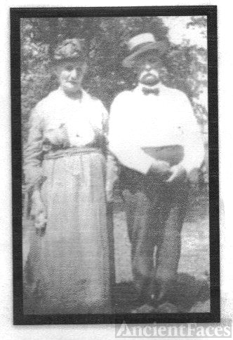 "Margaret Amy "" Maggie"" Moore Shroyer & Brother William James Moore"
