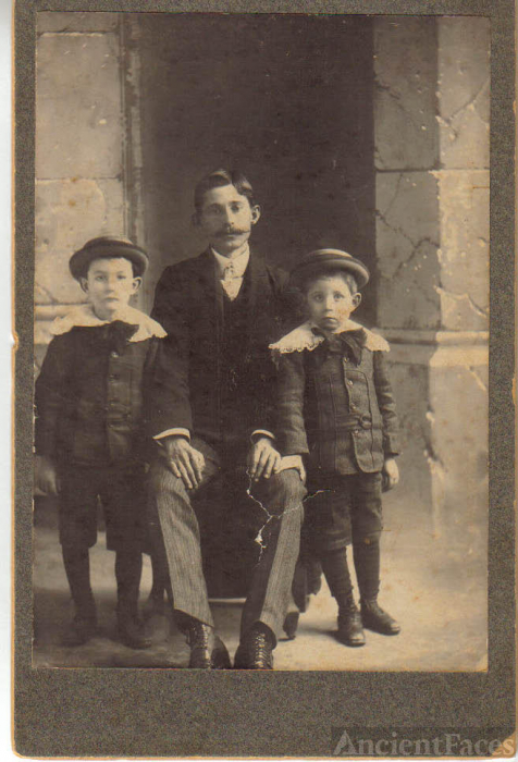 Great Uncle Ed Ward and His Sisters Boys