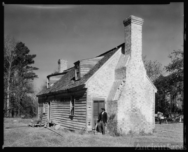 Huggins House, Lynnhaven Village, Princess Anne County,...