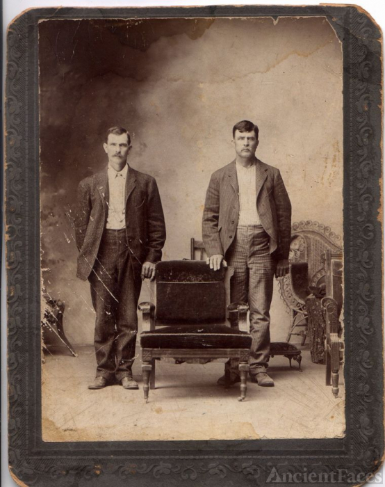 Columbus M. Stagner and unknown male