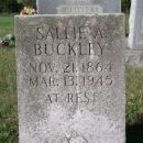 Buckley, Sallie A.-Tombstone