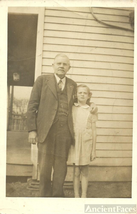 Calvin Lindsey & unknown child, Kentucky