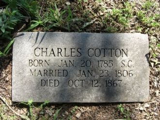 A photo of Charles Cotton