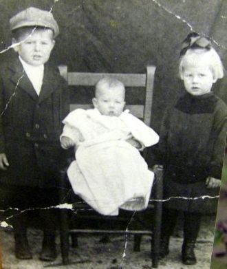 Elvin, Jack and Eunice Powell