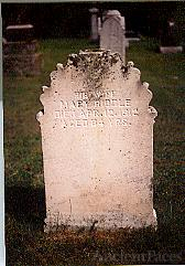 Mary Riddle's Headstone