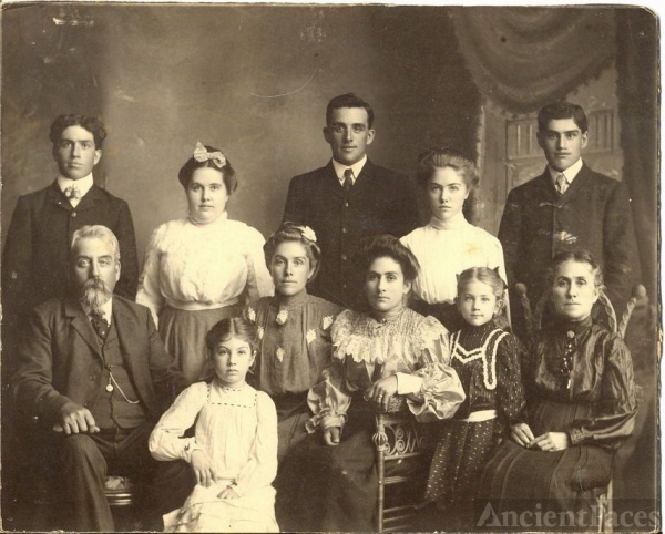 George Saunders Brown Family