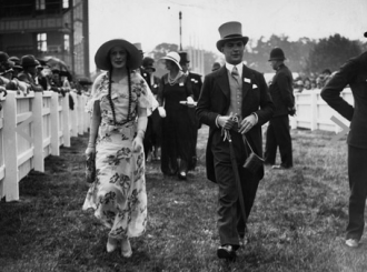Kentucky Derby Fashionable Couple