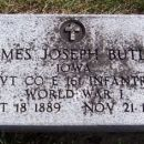 Pvt. James Joseph Butler gravesite