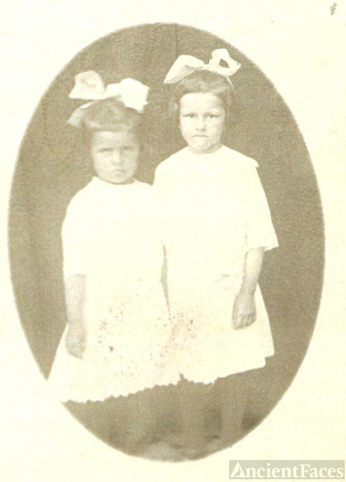 Blanche and Laura Johnson