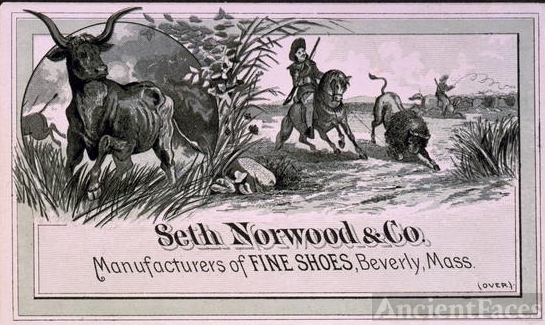 Seth Norwood & Co. Manufacturers of fine shoes, Beverly,...