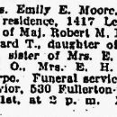 Emily Eleanor Thorpe obituary
