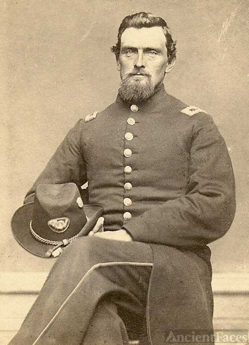 Isaac Allen, Civil War