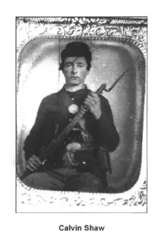 Private Calvin Shaw, 1862 Ohio