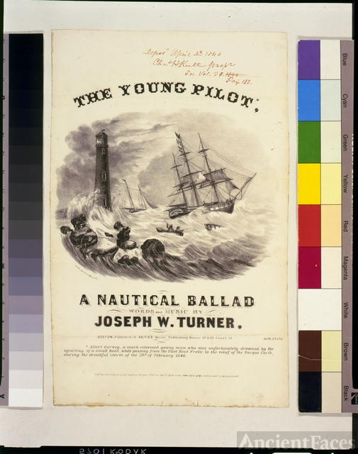 The young pilot, a nautical ballad, words and music by...