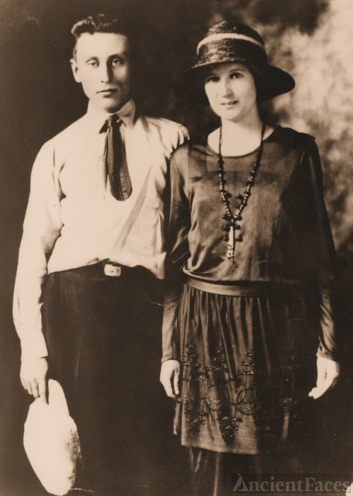 Velta Boyd and Alfred Porter, 1922