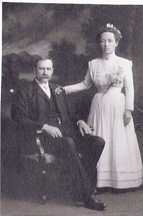 Wedding Pic.David Merchant and Martha Flora Parks