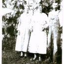 Charles Wm. Burks and his sisters