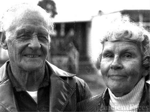 Leighton Lee Williams, Sr. (`1906-1992) and Kathryn Lucetta Frost Williams (1906-2003) Circa 1977