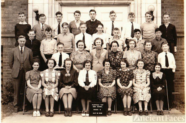 Fairfield Twp School, OH 1938