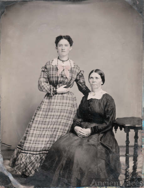 Margaret Burke and her mother Anna Fannan Burke