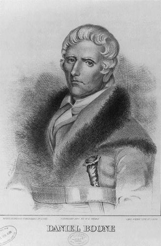 A photo of Daniel Boone