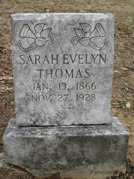 Sarah Evelyn Thomas