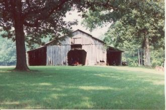 Old Barn on Clayton Homeplace
