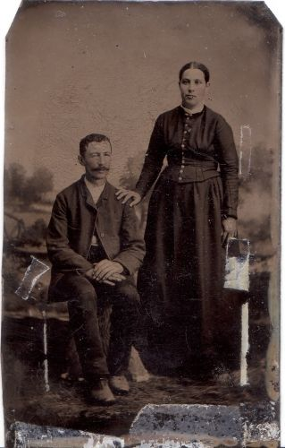 A photo of George and Mariah(Foor) Ritchey