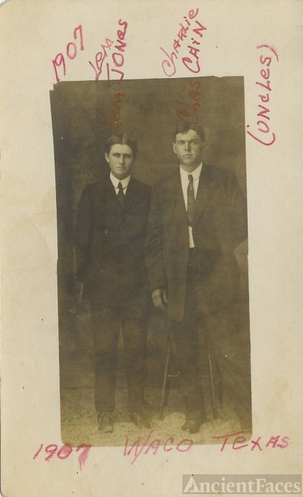 Lem JONES and Charlie CAIN 1907