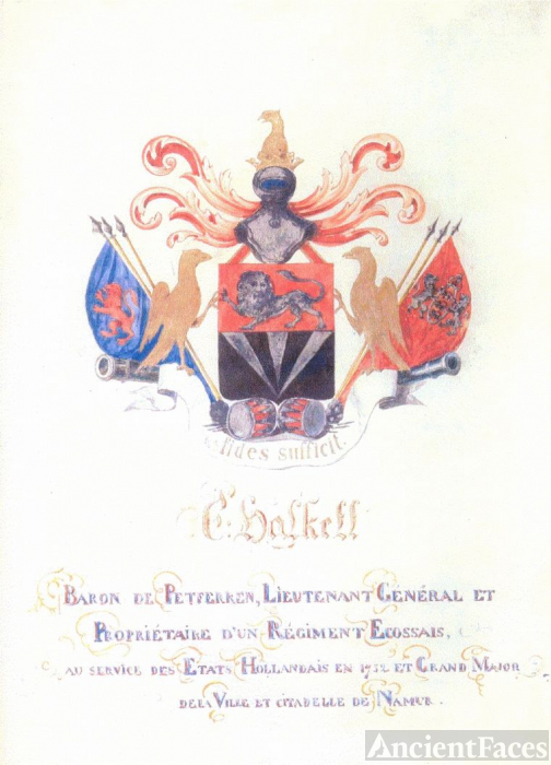 Halkett Baronship and Coat of Arms